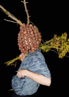 Igor Samolet, Portrait With Potatoes, 2015