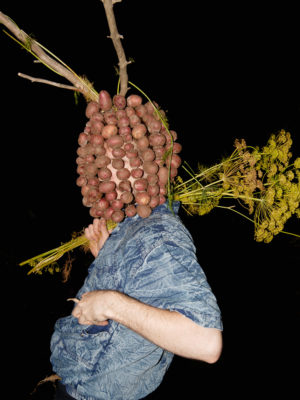 Igor Samolet, Portrait With Potatoes, 2015